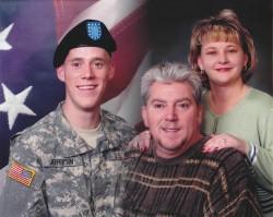 Linda Jefferson, husband and son Kyle